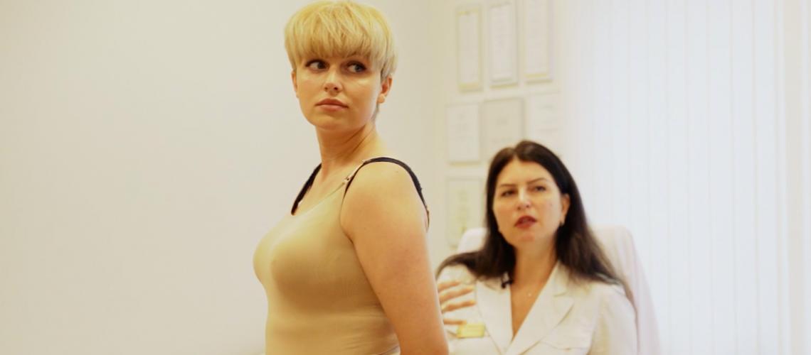Elīnas Gluzunovas konsultācija pie Dr. Evijas Rodkes – Sproģes